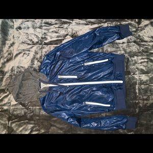 Sleek GUESS rain jacket